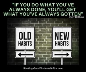 "Tony Robbins Quote:""If you do what you've always done, you'll get what you've always gotten"""